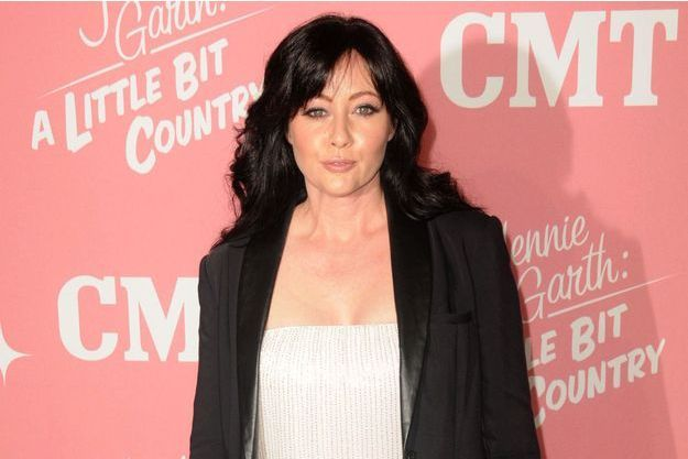 Shannen Doherty à Los Angeles en 2012.