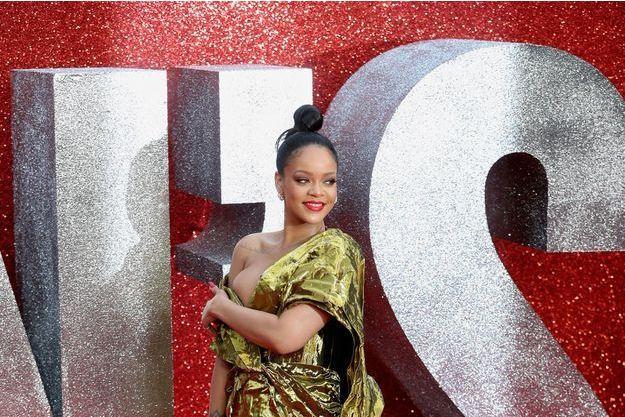 """Rihanna à la première européenne du film """"Ocean's 8"""" en 2018"""