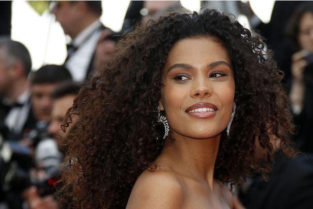 Tina Kunakey à Cannes, le 15 mai 2019