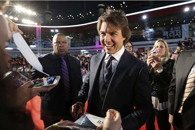 Tom Cruise à Seoul en novembre 2016.