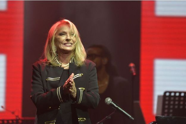 Véronique Sanson sur la scène de l'Olympia en septembre 2016.