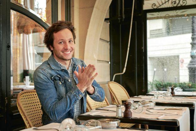 Le chanteur du tube « Pas là », à Paris, le 20 novembre.