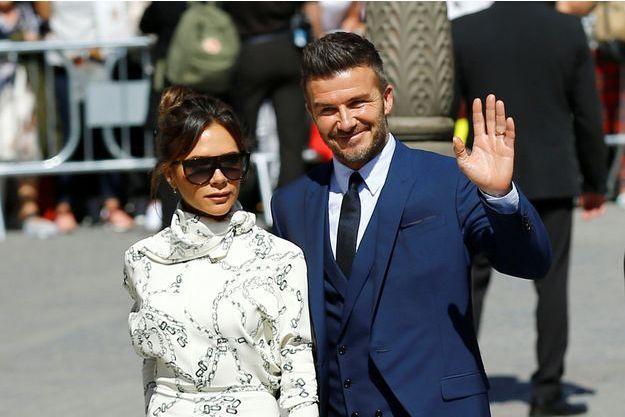 Victoria et David Beckham à Séville, le 15 juin 2019