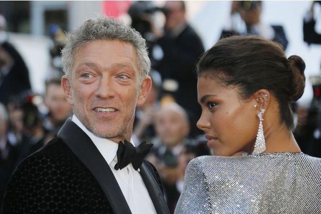 Vincent Cassel et Tina Kunakey au Festival de Cannes 2018