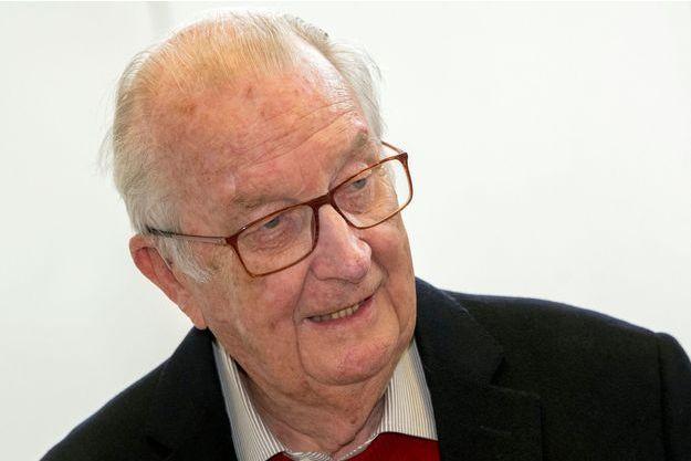 L'ex-roi des Belges Albert II, le 26 mai 2019