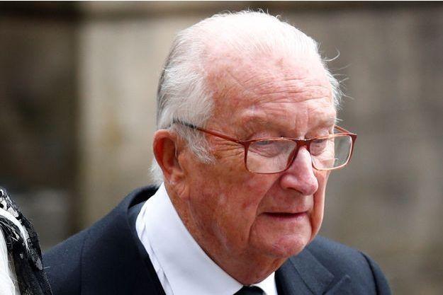 L'ex-roi des Belges Albert II le 4 mai 2019