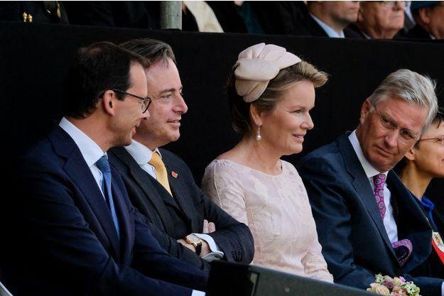 La reine Mathilde et le roi des Belges Philippe à Anvers, le 8 septembre 2019