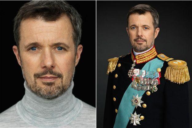 Les deux nouveaux portraits du prince Frederik de Danemark, en civil et en uniforme, dévoilés le 12 avril 2018