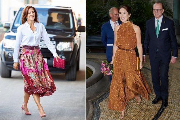La princesse Mary de Danemark à Copenhague les 2 et le 1er septembre 2019