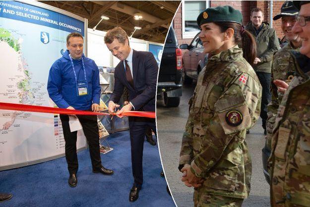 Le prince Frederik de Danemark à Toronto le 4 mars 2019. La princesse Mary de Danemark à Vordingborg le 5 mars 2019