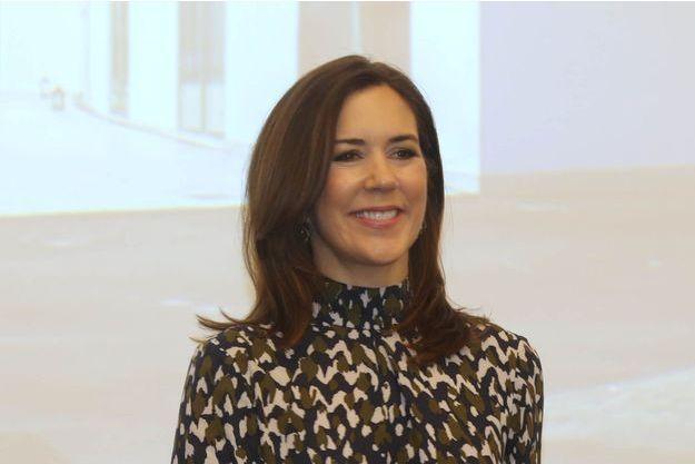La princesse Mary de Danemark le 12 janvier 2018