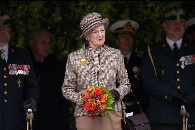 La reine Margrethe II de Danemark à Aarhus, le 11 novembre 2018