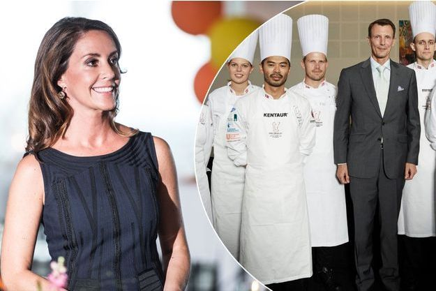 La princesse Marie de Danemark à Copenhague le 17 août 2017 - Le prince Joachim de Danemark à Copenhague le 21 août 2017