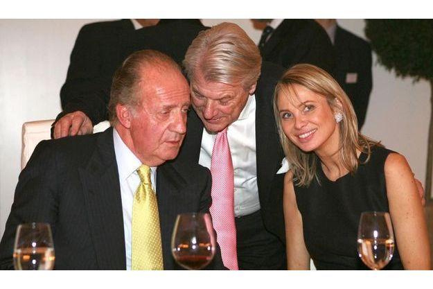 2 février 2006 : la première rencontre entre le roi Juan Carlos et Corinna zu Sayn-Wittgenstein, au cours d'un dîner à Stuttgart.