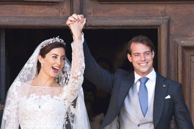 Saint-Maximin-la-Sainte-Baume, samedi 21 septembre 2013 : le prince Félix de Luxembourg, deuxième dans l'ordre de succession au trône, vient d'épouser religieusement la roturière Claire Lademacher.