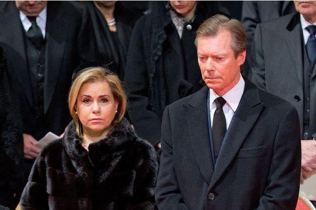 Le Grand-Duc Henri du Luxembourg et son épouse la Grande-Duchesse Maria-Teresa en décembre 2014 - Phioto d'illustration.