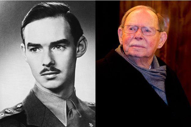 Jean de Luxembourg, sur un portrait de novembre 1952 et en décembre 2016.