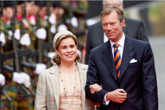 Le Grand-Duc Henri et son épouse Maria Teresa