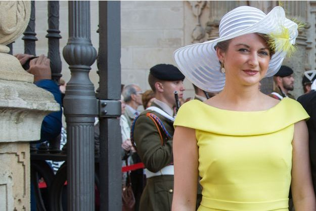 La princesse Stéphanie de Luxembourg à Luxembourg, le 23 juin 2015
