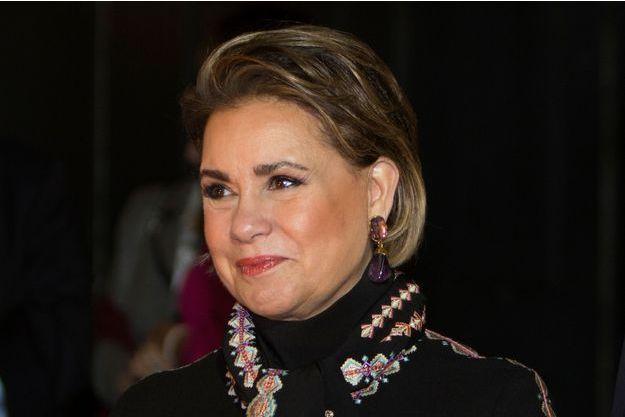 La grande-duchesse Maria Teresa de Luxembourg, le 28 novembre 2018