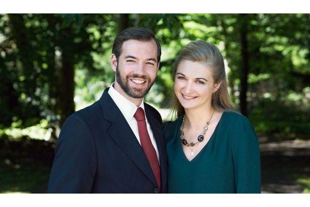 Le Grand-Duc héritier Guillaume du Luxembourg et la comtesse Stéphanie de Lannoy de Belgique.