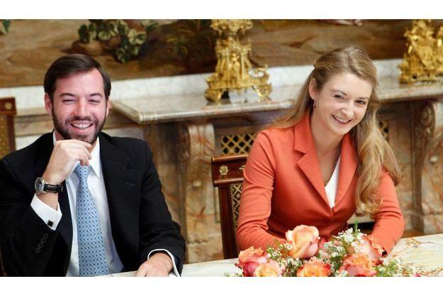 Guillaume du Luxembourg et Stéphanie.