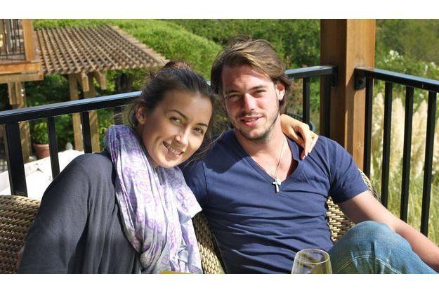 Le Prince Félix et sa future épouse Claire Lademacher, en 2010.