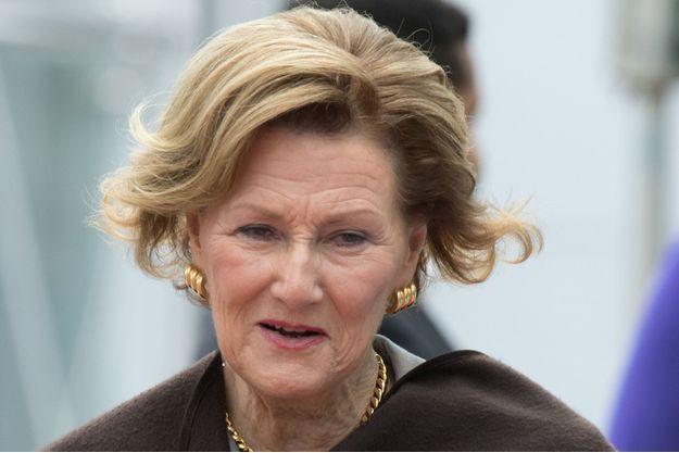 La reine Sonja de Norvège à Oslo, le 13 novembre 2015