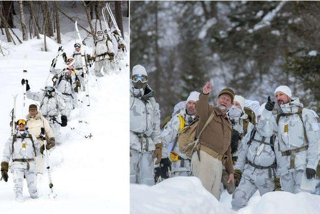 Le prince Haakon de Norvège commémore les 75 ans du sabotage de l'usine de Vemork, le 28 février 2018