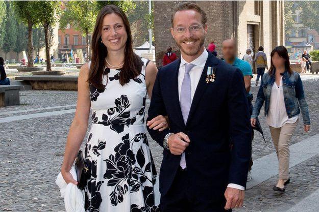La princesse Viktoria et le prince Jaime de Bourbon de Parme le 27 septembre 2014