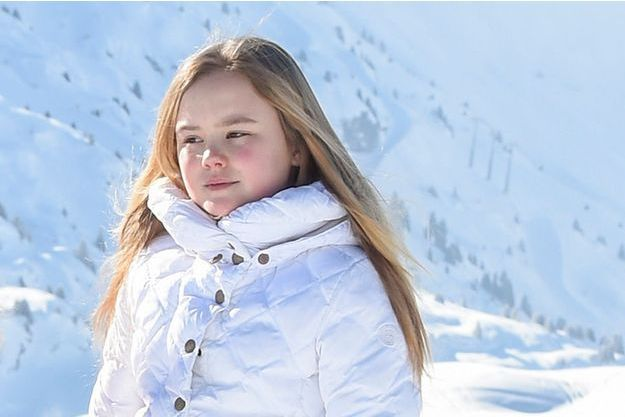 La princesse Ariane des Pays-Bas à Lech, le 26 février 2018