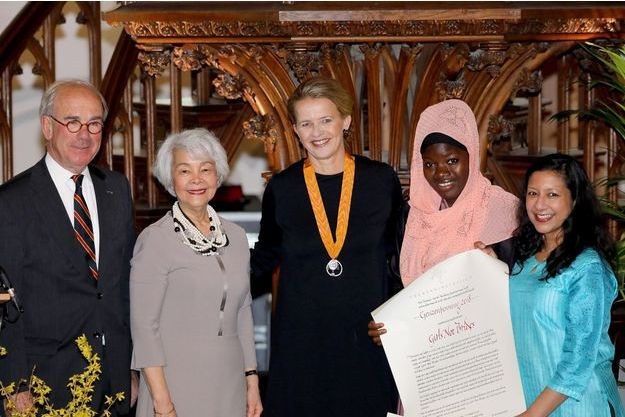 La princesse Mabel des Pays-Bas a reçu le prix Geuzenpenning à Vlaardingen, le 13 mars 2018