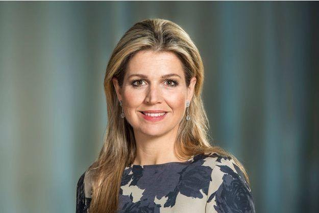 La reine Maxima des Pays-Bas. Photo choisie par la Cour pour ses 48 ans, le 17 mai 2019