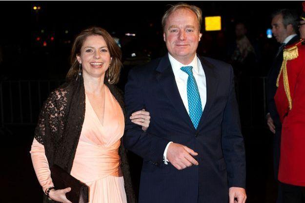 La princesse Annemarie et le prince Carlos de Bourbon de Parme à Utrecht, le 8 décembre 2014