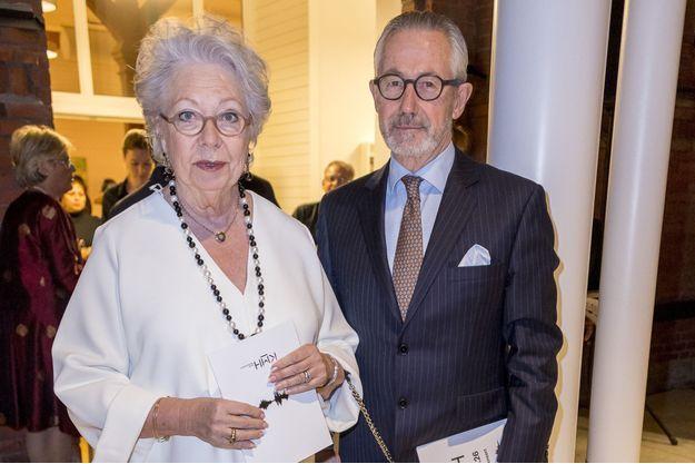 La princesse Christina de Suède et son mari Tord Magnuson à Stockholm, le 26 janvier 2017