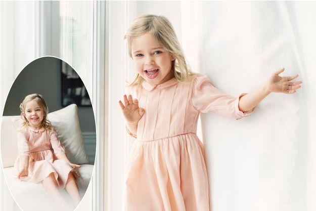 La princesse Leonore de Suède. Photos diffusées pour ses 4 ans, le 20 février 2018