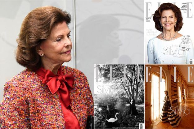 La reine Silvia de Suède, le 14 novembre 2018