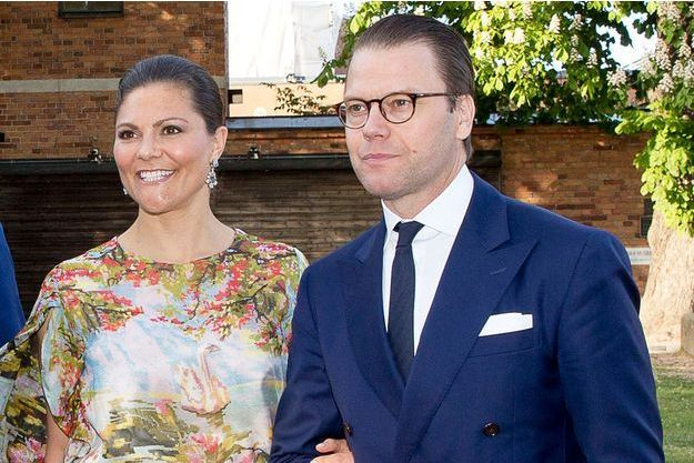 La princesse Victoria de Suède et son mari le prince consort Daniel, le 29 mai 2017