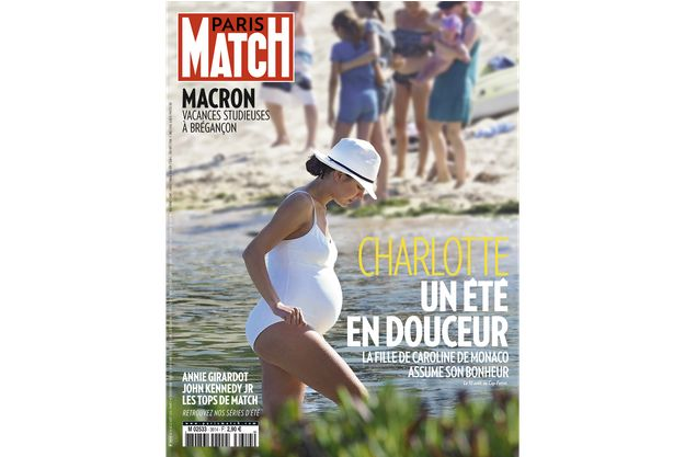 Charlotte Casiraghi fait la une de Paris Match (n°3614)