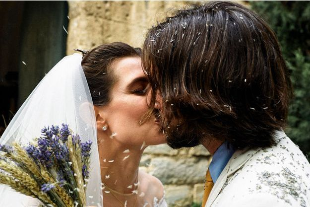 Charlotte Casiraghi et Dimitri Rassam, samedi 29 juin à Saint-Rémy de Provence.