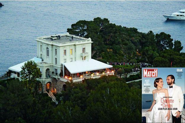 Samedi 1er juin, à Monaco. Les jeunes mariés donnent un somptueux dîner dans la villa début de siècle La Vigie