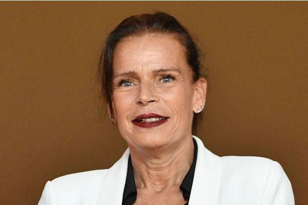 La princesse Stéphanie de Monaco, le 12 mai 2018