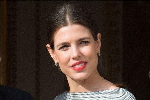 Charlotte Casiraghi au palais de Monaco, le 7 janvier 2015