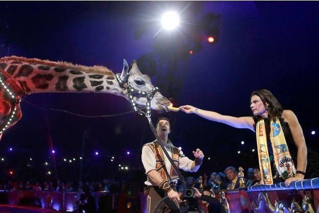 Stéphanie de Monaco animaux cirque