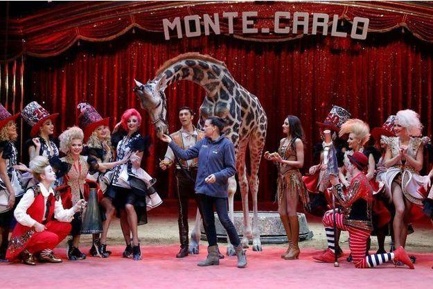 Stéphanie de Monaco lors du Festival internationale de Monte-Carlo 2018.