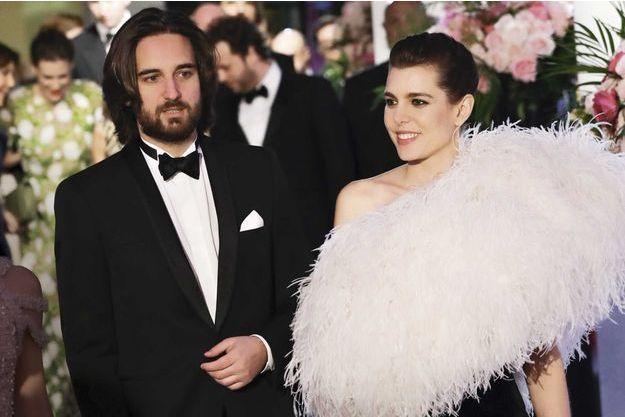 Charlotte Casiraghi et Dimitri Rassam, une arrivée très attendue au  Sporting Monte,Carlo,