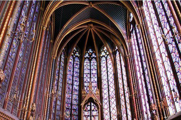La Sainte-Chapelle à Paris, en 2008