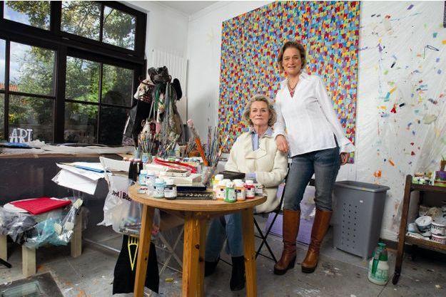 Uccle, octobre 2012. Delphine Boël et sa maman, Sybille de Sélys Longchamps, reçoivent Paris Match en exclusivité au domicile de l'artiste. Jusqu'ici, il nous avait été demandé de ne rien publier.