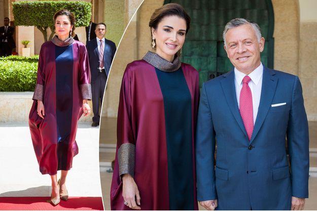 La reine Rania et le roi Abdallah II de Jordanie à Amman, le 24 mai 2018