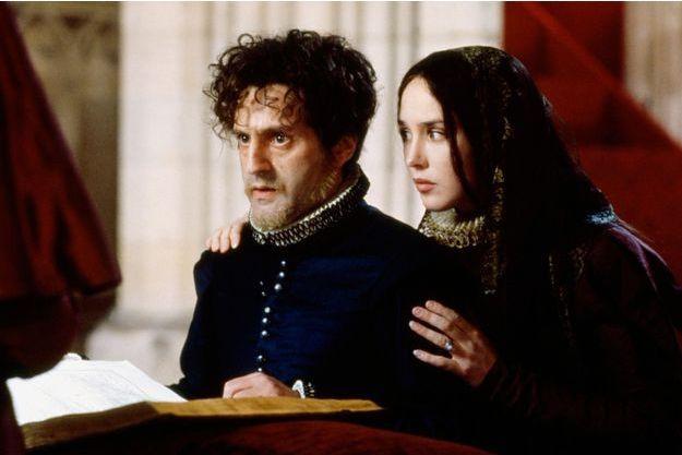 Isabelle Adjani et Daniel Auteuil (en Henri IV) dans « La Reine Margot » de Patrice Chéreau en 1994